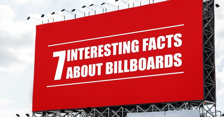 7 Interesting facts about Billboards you haven't Heard before